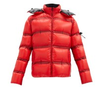 Ramis Hooded Down Quilted-ripstop Jacket