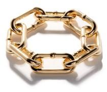 Chunky Gold-plated Sterling Silver Bracelet