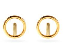 Saturn Small 18kt Gold-vermeil Hoop Earrings