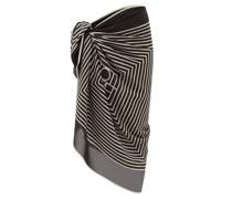 Monogram-print Silk-voile Sarong
