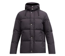 Sleeve-pocket Quilted-shell Jacket