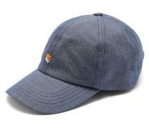 Logo-embroidered Cotton-blend Chambray Cap