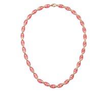 Ada Diamond, Enamel & 18kt Rose-gold Necklace