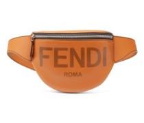 Logo-debossed Leather Belt Bag