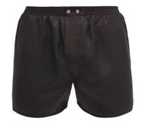 Woburn Satin-striped Silk Boxer Shorts