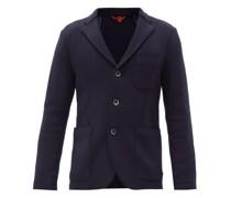 Slanega Single-breasted Wool-blend Blazer