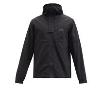Logo-print Technical Hooded Jacket