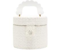 Lydia Acetate-handle Raffia Bag