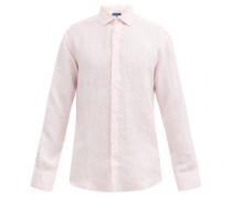 Slubbed-linen Poplin Shirt