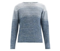 Ombré Linen Sweater