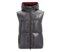 Agneaux Hooded Quilted Down Gilet