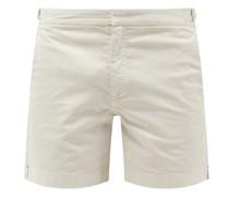 Bulldog Cotton-blend Twill Shorts