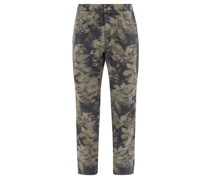 Flynt Camouflage-print Cotton Trousers