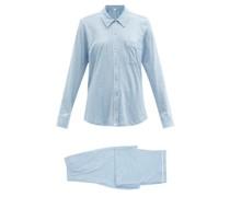 Cecilia Organic Pima-cotton Pyjamas