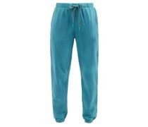 Moonstone Lennox Cotton-jersey Track Pants
