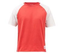 Raglan Cotton-jersey T-shirt