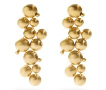 Galaxy Of Stars Gold-plated Drop Earrings