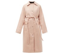 Original Belted Satin Trench Coat