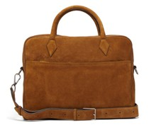 Closer Suede Briefcase