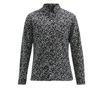 New York Special Floral-print Cotton-poplin Shirt