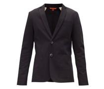Borgo Single-breasted Cotton-twill Blazer