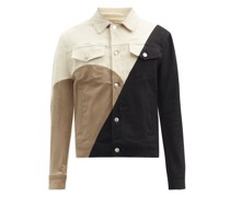 Modernist Panelled Denim Jacket