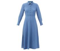 Veronica Voile Midi Shirt Dress