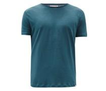 Ob-t Linen-jersey T-shirt