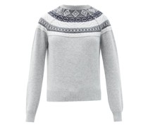 Lucia Fair Isle-jacquard Cashmere Sweater