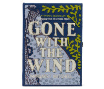 Gone With The Wind Embroidered Book Clutch