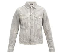 Thumper Jacket Type Iii Distressed Denim Jacket