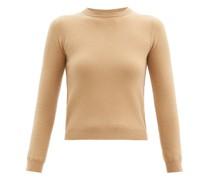 N°98 Kid Round-neck Stretch-cashmere Sweater