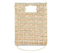 Marlene Crystal-embellished Caged Bag