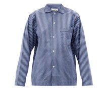 Striped Organic-cotton Pyjama Shirt