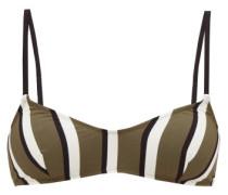 Rachel Striped Bikini Top