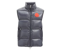 Logo-patch Quilted Down Gilet