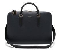 Ludlow Grained-leather Briefcase