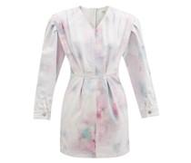 Lacanau Tie-dye Denim Mini Dress