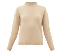 Round-neck Camel-hair Sweater