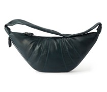 Croissant Large Leather Cross-body Bag