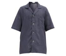 Oversized Linen-poplin Shirt