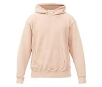 Brushed-back Cotton Hooded Sweatshirt