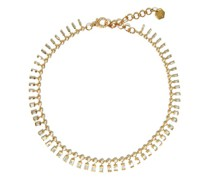 Dot Dash Diamond & 18kt Gold Necklace