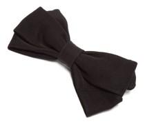 Kennedy Bow-shaped Cotton-faille Hair Clip