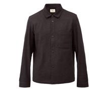 Orb Wool-blend Overshirt
