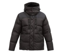 Garston Hooded Quilted Recycled-nylon Down Jacket