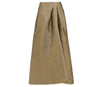 Mulligan Lamé-cloqué Skirt