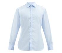 Superior French-cuff Cotton-poplin Shirt