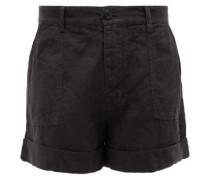 Le Beau High-rise Linen Shorts