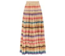 Carmen Tiered Striped Gauze Maxi Skirt